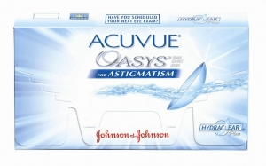 Контактные линзы Johnson & Johnson Acuvue Oasys for Astigmatism with Hydraclear Plus 6 линз